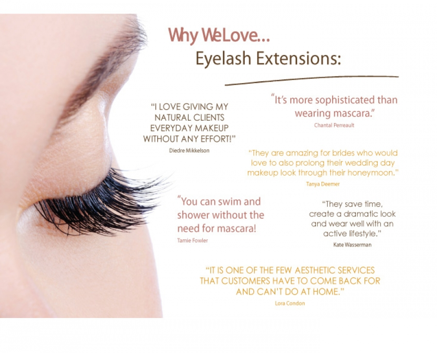 Why We Love Eyelash Extensions