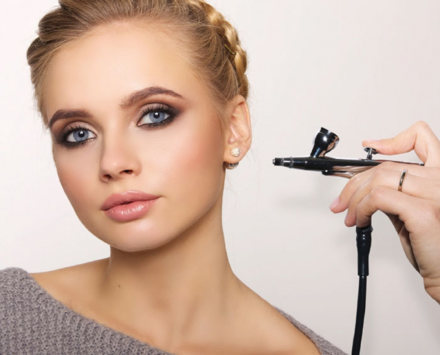 Airbrush Makeup For Oily Acne Skin