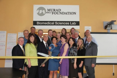 The Murad Family Foundation to be the founding sponsor of Project Lead the Way: Biomedical Sciences Pathway