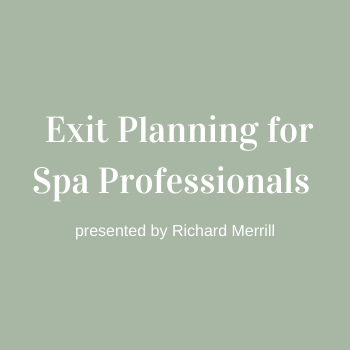 Strategic Exit Planning for Spa Professionals